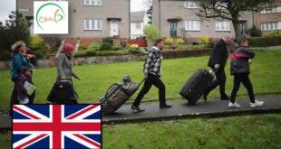 إعادة التوطين إلى بريطانيا
